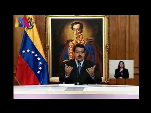 Presidente Nicolás Maduro presenta pruebas del magnicidio frustrado