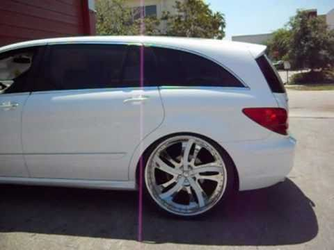 "Mercedes-Benz R500 on 26"" Forgiatos- C2C Customs"