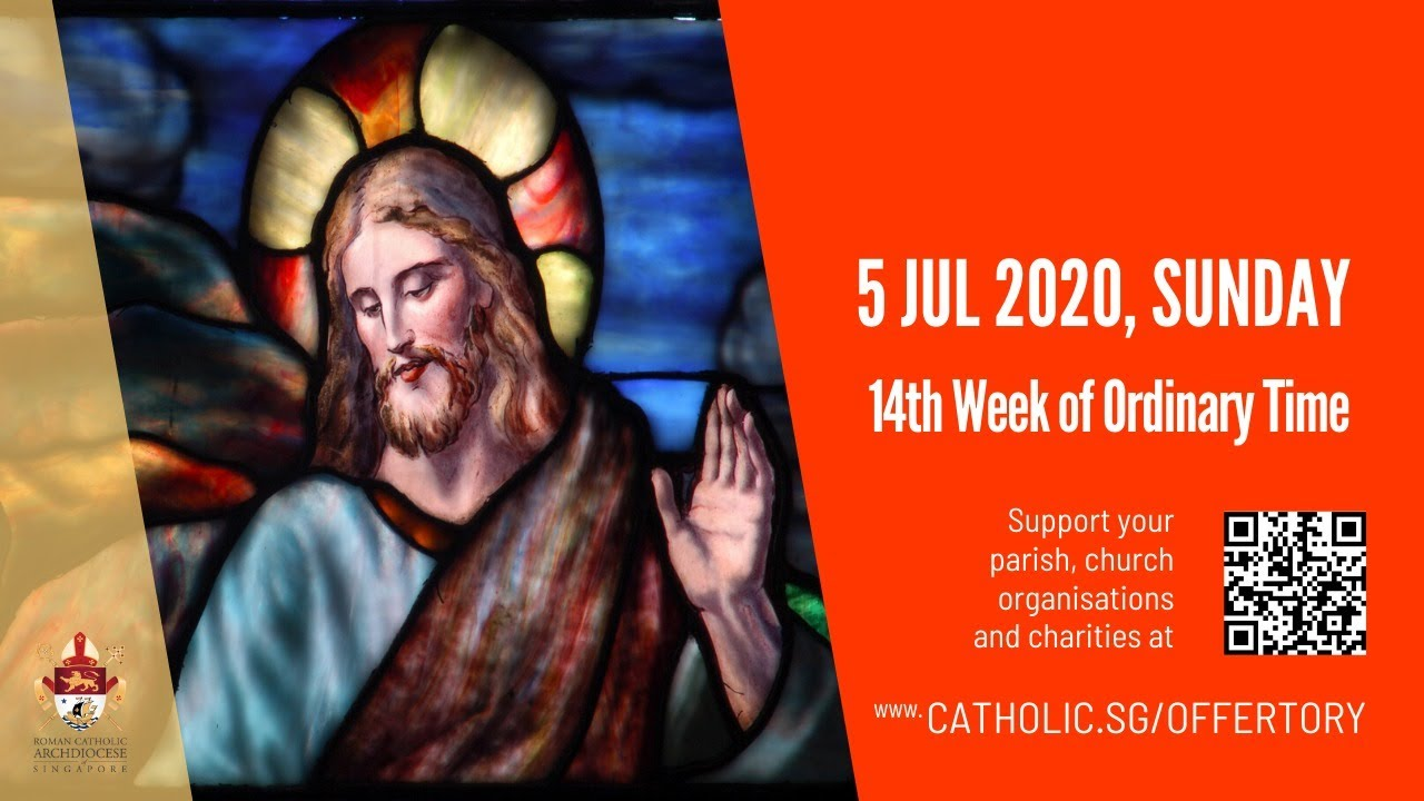 Catholic Sunday Mass Today 5th July 2020 Live, Catholic Sunday Mass Today 5th July 2020 Live At Archdiocese of Singapore