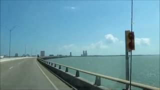 Bridge to South Padre Island Texas