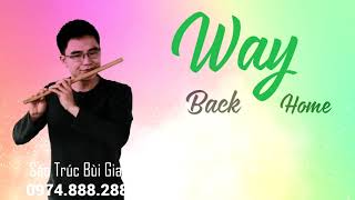 Way Back Home -  Amazing Flute Cover   Sáo Trúc Bùi Gia