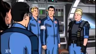Archer - Black astronaut
