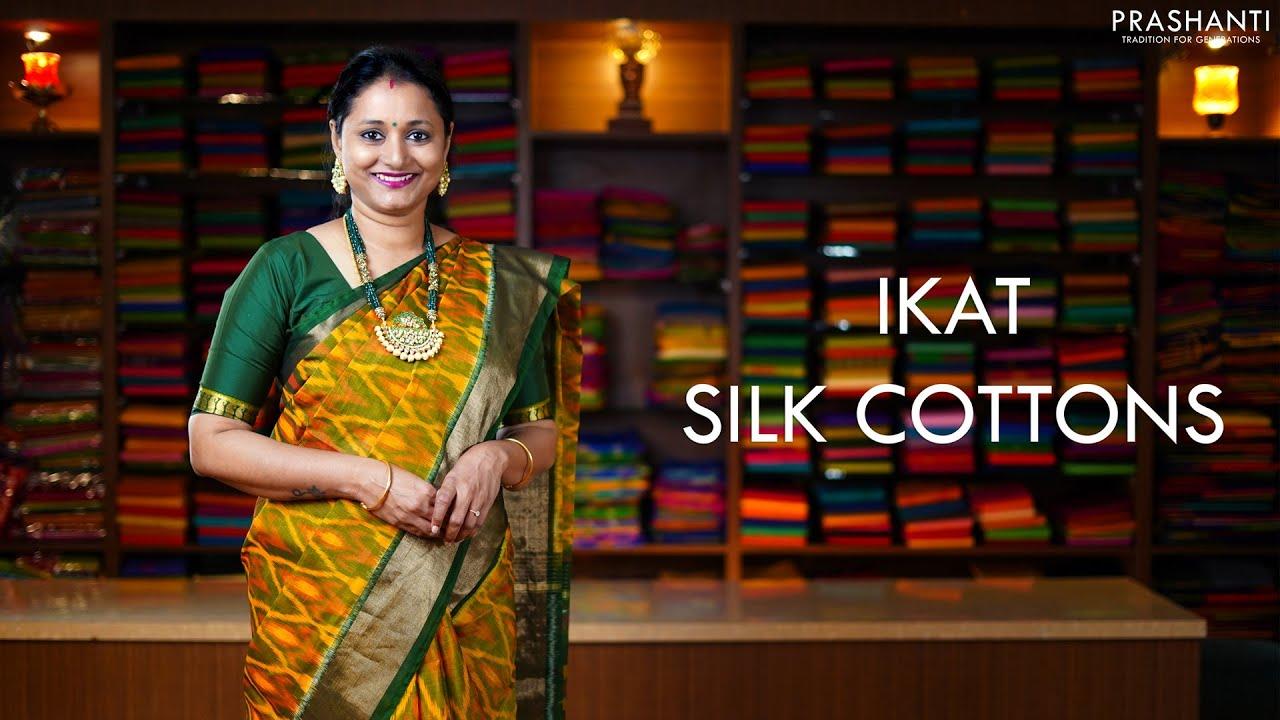 "<p style=""color: red"">Video : </p>Ikat Silk Cottons | 11 Jan 2021 | Prashanti 2021-01-11"