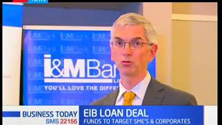 EIB to disburse $40M to I&M Bank