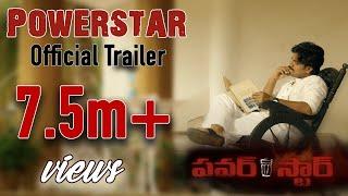 Powerstar Official Trailer | RGV | RGVs #Powerstar | Latest 2020 Movie Trailers | Ram Gopal Varma