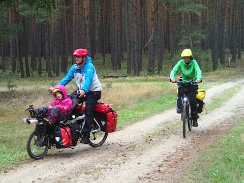 Regenradln -  Ausrüstung am Fahrrad im Regen