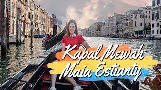 Liburan di Maldives, Berikut Potret Maia Estianty saat Berlayar Naik Kapal Mewah