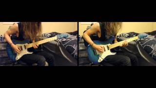Children of Bodom - Lil' Bloodred Ridin' Hood dual guitar cover (Taylor Washington)