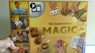 Zauberkunst | Die Zauberschule MAGIC | Gold Edition | Zauberpäckchen von Kosmos