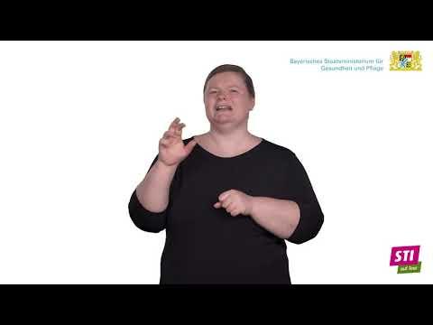 Was sind Sexuell übertragbare Infektionen (STI)? – in Deutscher Gebärdensprache