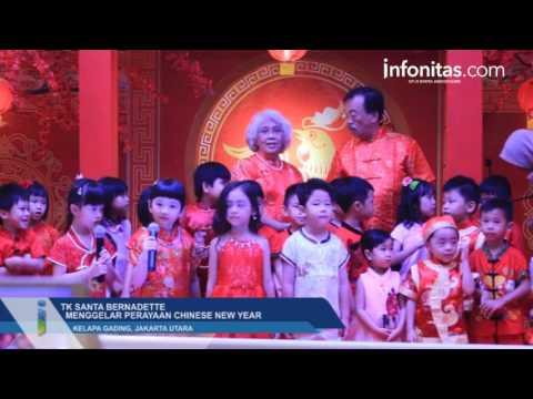 TK Santa Bernadette Rayakan Chinese New Year