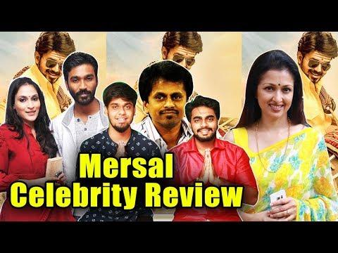 Mersal Celebrity Review & Wishes | Mersal Will Be A Blockbuster | Dhanush | AR Murugadoss | Gautami