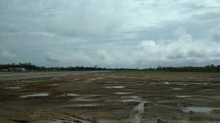 preview picture of video 'Indigo A320 Landing at Dibrugarh Airport'