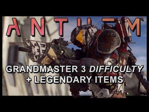 Anthem – New Info | Grandmaster 3, Storms Viability, MTs, Elemental Damage, AI, Legendaries