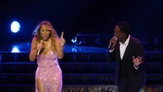 Mariah Carey  Trey Lorenz - ( Michael Jackson ) - I`ll Be There @ Live Oslo Spektrum - 31.03.2016