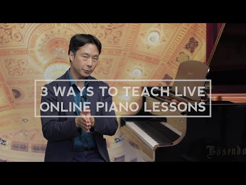 How To Teach Online Piano Lessons | Cunningham Piano