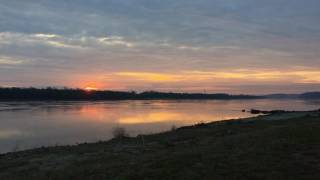 Mississippi River Sunrise Crystal City
