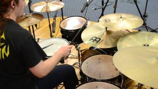 Dissection - God of Forbidden Light (Drum Cover)