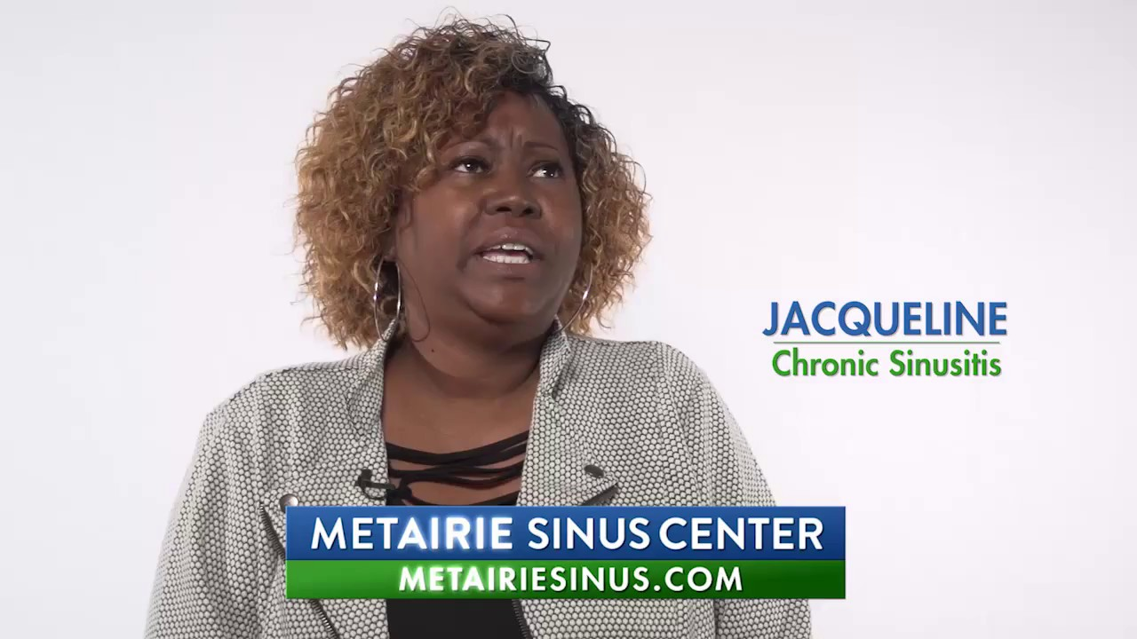 Jaqueline - Chronic Sinusitis Patient