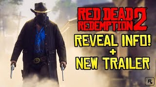Red Dead Redemption 2 NEW TRAILER LIVE REACTION (Official Trailer #2)