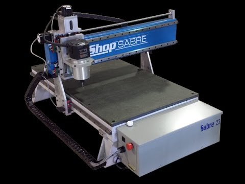 Walk around the ShopSabre 23 CNC Router with RouterBob!video thumb