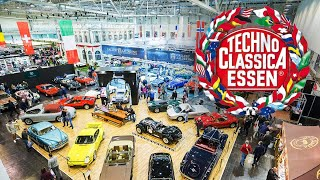 Techno Classica Essen 2019 Best of, full tour