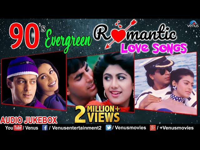 90's Evergreen Romantic Love Songs | Superhit Hindi Songs | Jukebox | Unforgettable Love Songs