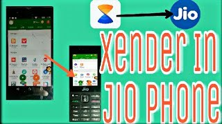 jio phone me xender download kaise kare