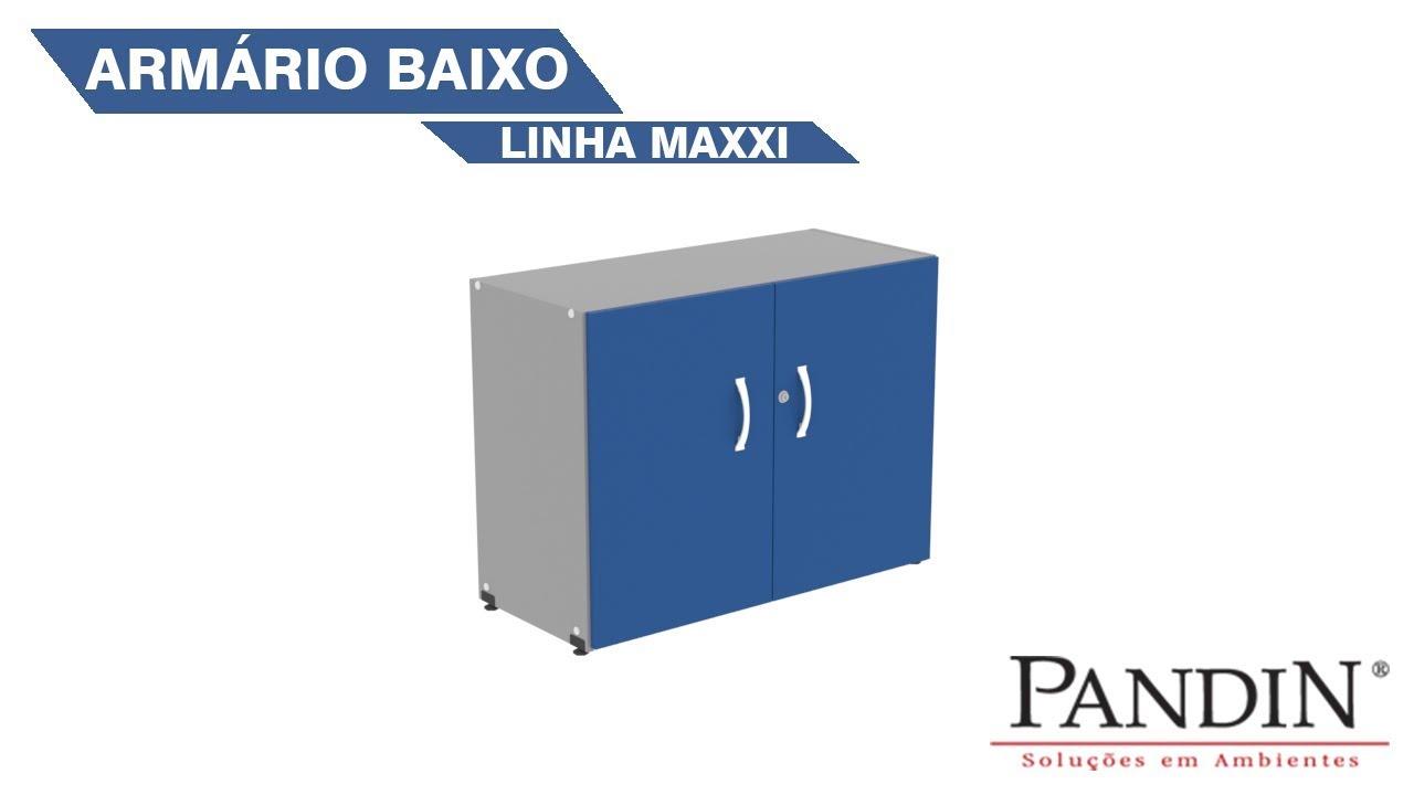 Armário Baixo - Linha Maxxi