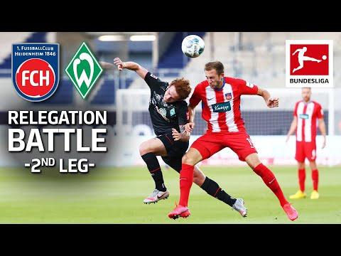 1. FC Heidenheim 1846 2-2 SV Sport Verein Werder B...