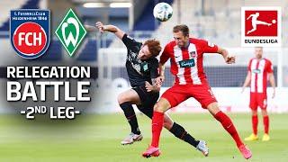 1. FC Heidenheim 1846 vs. SV Werder Bremen – Last Minute Relegation Playoff Drama