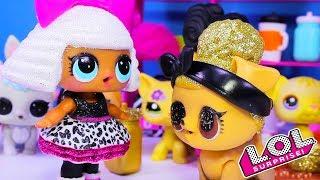 #КУКЛЫ ЛОЛ Питомец Pup Bee Золотой шарик LOL Гламурные и красивые куколки Мультик ЛОЛ TOYS AND DOLLS