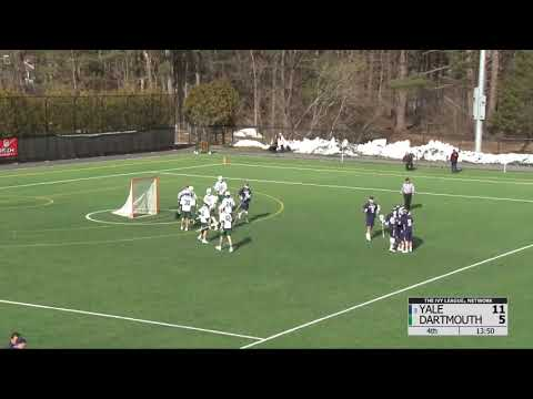 Highlights Yale Mens Lacrosse Downs Dartmouth