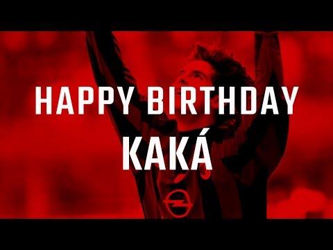 Happy Birthday Kaká!