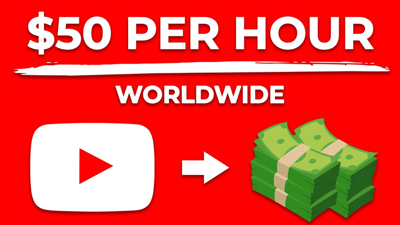 Earn $50/Hour Watching FREE Videos Online! (Make Money Online) thumbnail