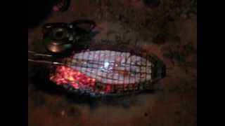 preview picture of video 'Cooking fish in iraq'