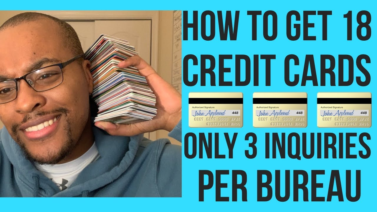 Charge Card Stacking Described! How to get 18 Credit Cards with Just 3 Queries per credit bureau! thumbnail