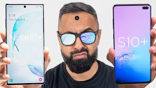 Samsung Galaxy Note10+ vs Samsung Galaxy S10+