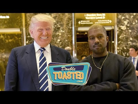 KANYE WEST SUPPORTS DONALD TRUMP - Publicity stunt?