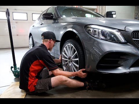 4K Mandrus Rotec Custom 19 Inch Wheels for Mercedes C300 AMG