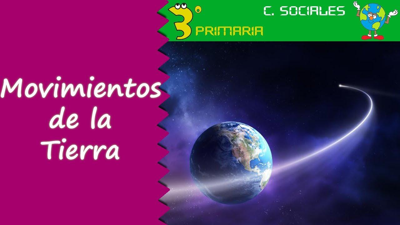 Ciencias Sociales. 3º Primaria. Tema 7. Los movimientos de la Tierra