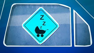 Car Ride Sounds for Baby Sleep   Soothe Crying or Colicky Infant with Driving White Noise   10 Hours