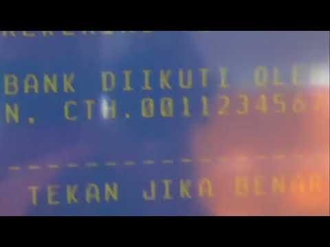 TRANSFER DARI REKENING BNI KE BCA LEWAT ATM