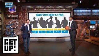 Mike Greenberg and Jalen Rose's worst NBA No. 1 draft picks ever | Get Up! | ESPN - dooclip.me