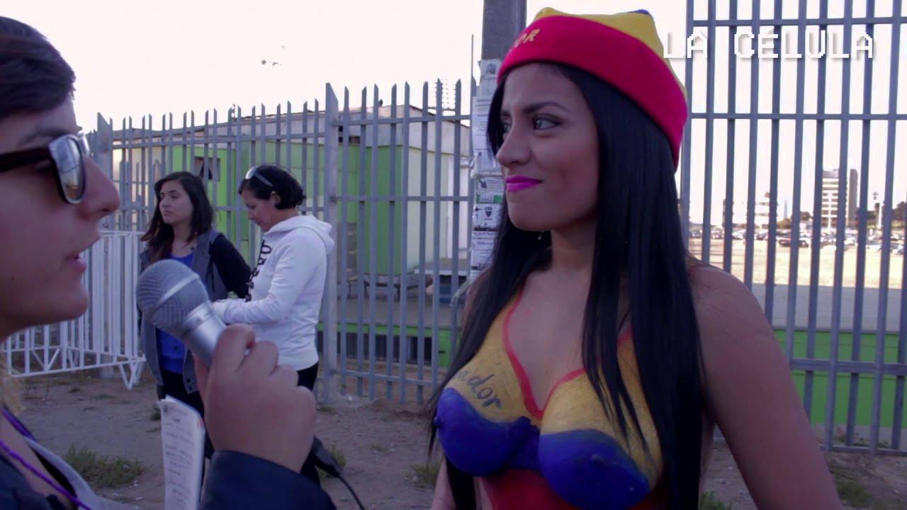 Hincha ecuatoriana opina sobre la movilización estudiantil chilena