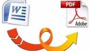 Convert a Word documents to PDF for free