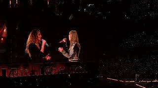 T-Swizzle CRANKED Up The Stage Saturday Night With Her Idols, Tim McGraw & Faith Hill