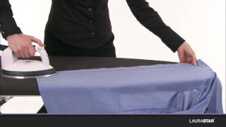 How to iron a shirt in 2 minutes - Laurastar