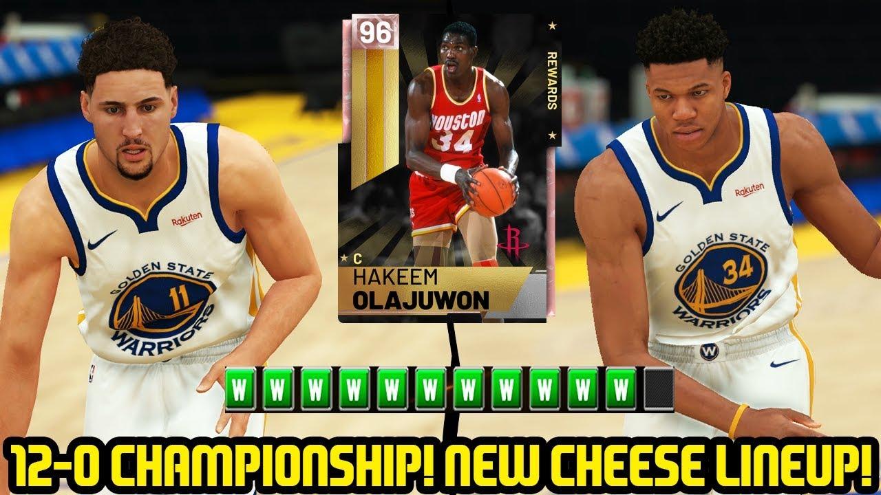 12-0 PINK DIAMOND HAKEEM CHAMPIONSHIP! NEW CHEESE SQUAD! NBA