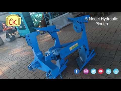 Popular Model Two Bottom Hydraulic Plough